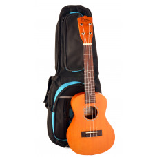 Concert Ukulele with tuning pegs and padded bag - CL500B