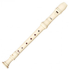AULOS 3-piece English/baroque soprano recorder - E303A